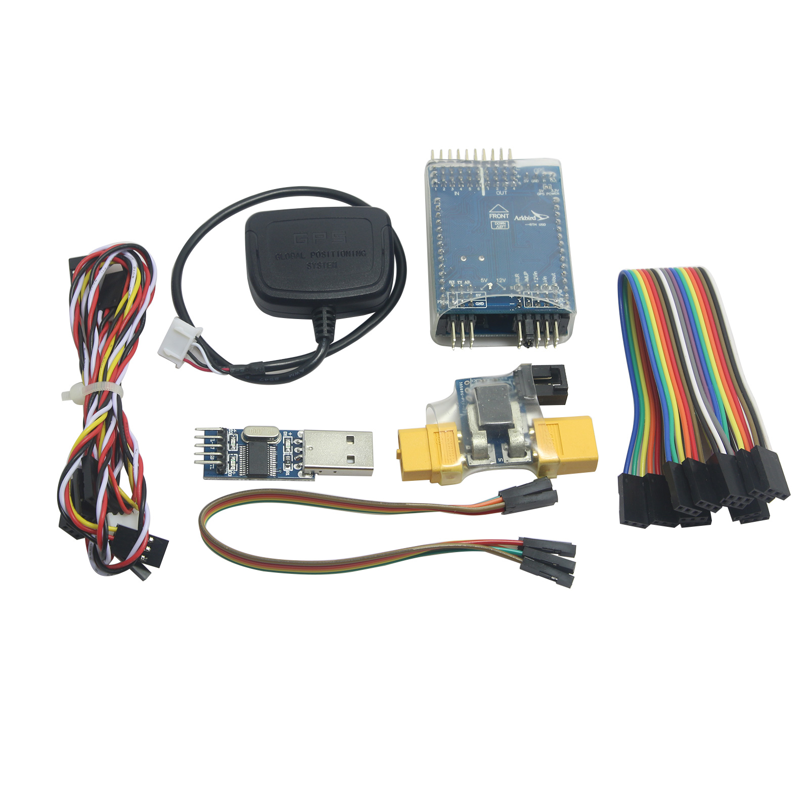 ARKBIRD Flight Controller M8N GPS Current Meter Integrate OSD Barometer for FPV Fixed Wing RC Airplane