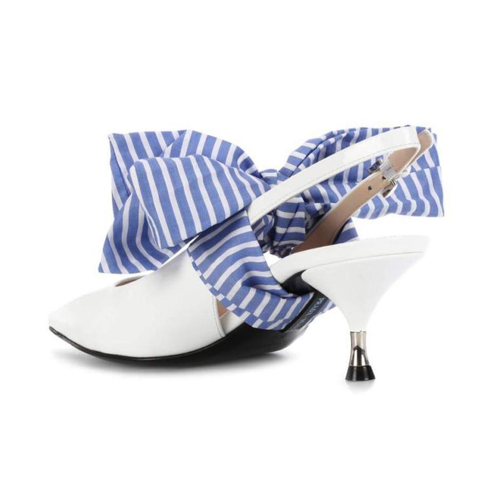 Elegante Kitten Heels Kleid spitz schuhe Frau Große Schmetterling knoten Hohe schuhe Weiß Leder pumpen frauen schuhe zapatos mujer-in Damenpumps aus Schuhe bei  Gruppe 2
