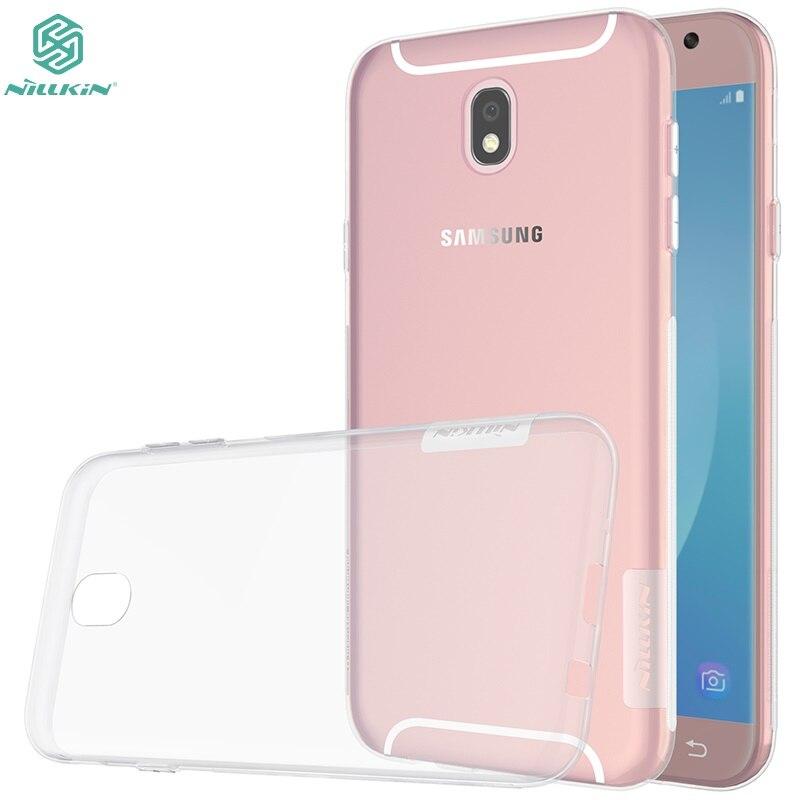Θήκη κάλυψης για Samsung Galaxy j5 2017 έκδοση j530F θήκη NILLKIN Nature TPU Διαφανής θήκη Clear TPU Μαλακή πίσω θήκη