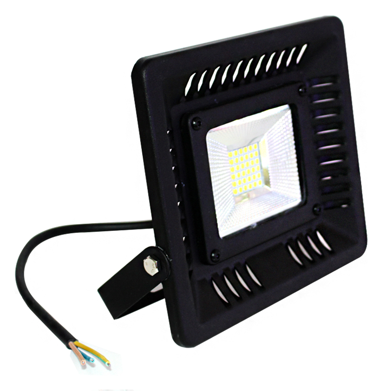 Ny stil Ultralyd LED Flood Light 50W 30W LED Floodlight SMD3030 IP65 Vandtæt 220V 240V LED Spotlight Outdoor Lighting