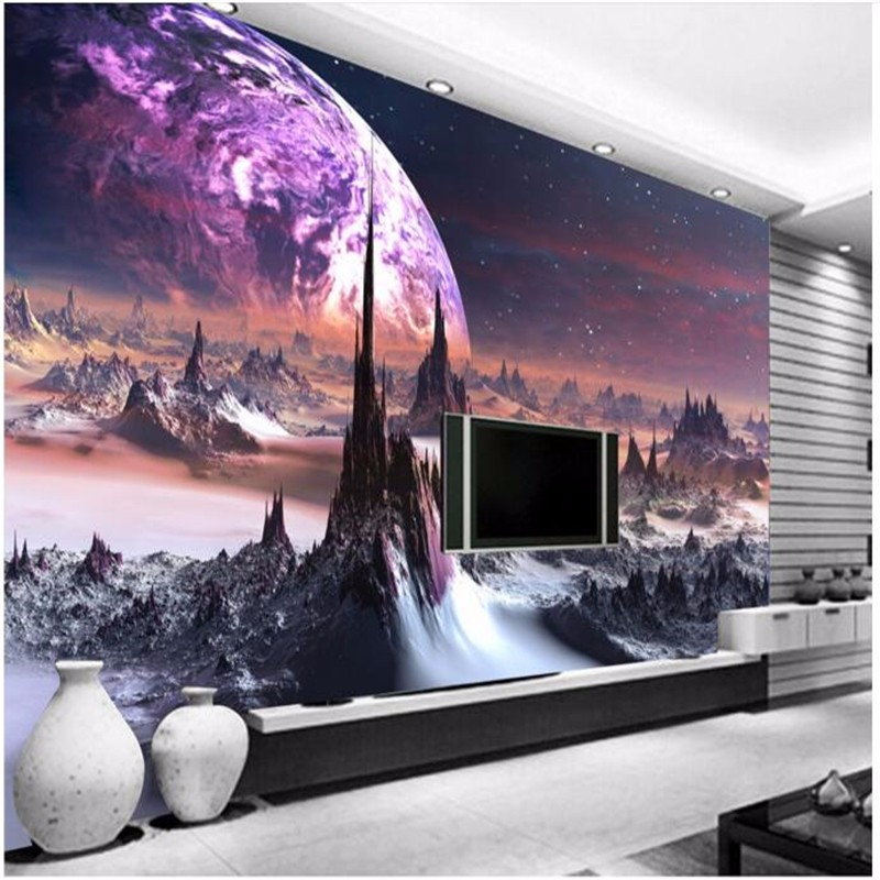 Beibehang Large Custom Wall Paper Cool Metal Texture: ̿̿̿(•̪ )Beibehang Custom 3D 웃 유 Wallpapers Wallpapers