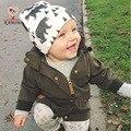 KAMIMI 2017 Новый Детские Шапки Милые Животные Отпечатано Мода Хлопок детские Шляпы Малыша Младенческая Baby Дети Аксессуары Детские Шапки Шапки I020