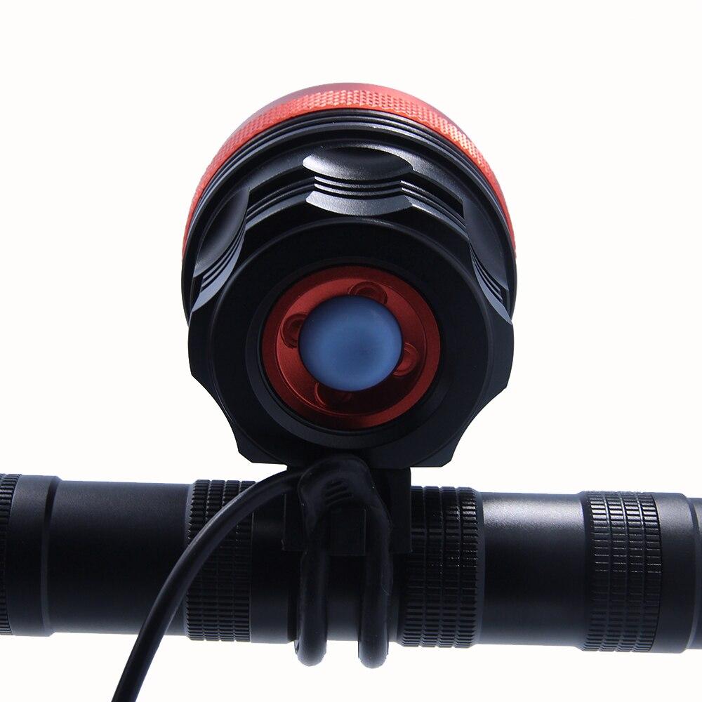 Walkfire 12000lumen 8x XML T6 LED Taschenlampe Fahrrad Licht Lampe - Radfahren - Foto 4