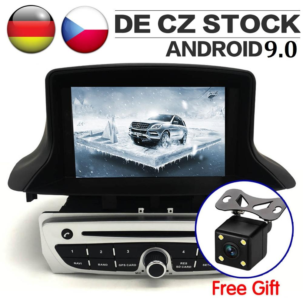 7 IPS Screen Android 9 0 Car Radio for Renault Megane 3 Fluence 2009 2015 Flue