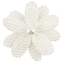 2 Pcs/lot 3.5″ White Rhinestone Bow For Girl Kids Cute Pearls Hair Bow With Alligator Hair Clips Beads Hairgrip Hair Accessories