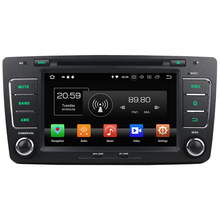GPS Navi 4GB RAM 32GB ROM Android 8.0 Octa Core 2 din 4G LTE car multimedia player for Volkswagen Octavia 2012