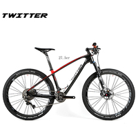 2017 Novo HOT!! Super Leve MTB Carbono Bicicleta Completa 27.5er Ultra light BICICLETA Ciclismo Mountain Bicicleta XT M8000 15.5
