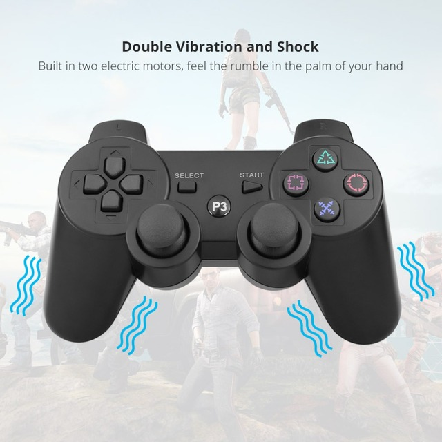 Gamepad wireless bluetooth joystick for ps3 controller wireless console for playstation 3 game pad joypad games accessories