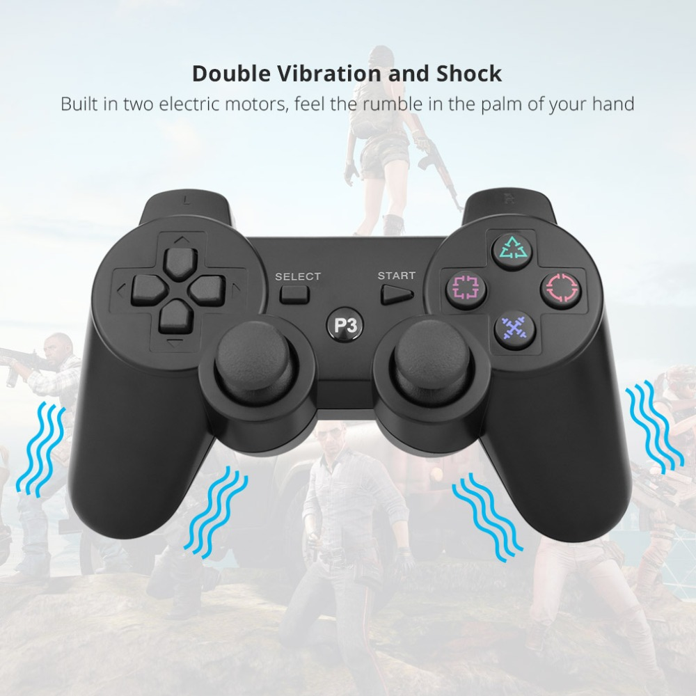 Image 3 - Gamepad Wireless Bluetooth Joystick For PS3 Controller Wireless Console For Sony Playstation 3 Game Pad Switch Games Accessories-in Gamepads from Consumer Electronics