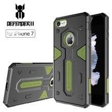 Nillkin защитник ii pc & тпу противоударный телефон случаев 4.7 дюймов новый hybrid tough броня защитная оболочка для iphone 7 back case крышка