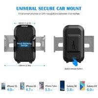 руль mcm12 mpow автомобильный держатель телефона сцепление про 2 приборной панели регулируемый автомобильный держатель универсальный колыбель держатель для мобильного телефона