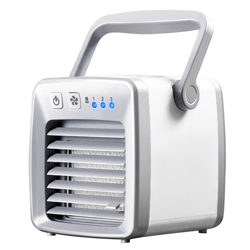 Bon Mini Air Conditioner Portable USB Air Cooler Handy Air Conditioning Machine  Personal Space Cooling Fan Cooler For Home Office