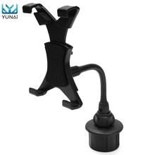 YUNAI Adjustable 7 To 10 Tablet Holder Plastic Car Mount Holder Stand Bracket For iPad Kindle For Galaxy New Tablet Stand Holder