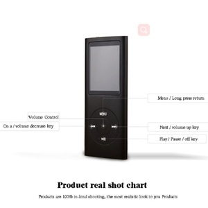 Image 5 - ZHKUBDL 1.8 inch mp3 player 16GB 32GB Music playing with fm radio video player E book player MP3 with built in memory
