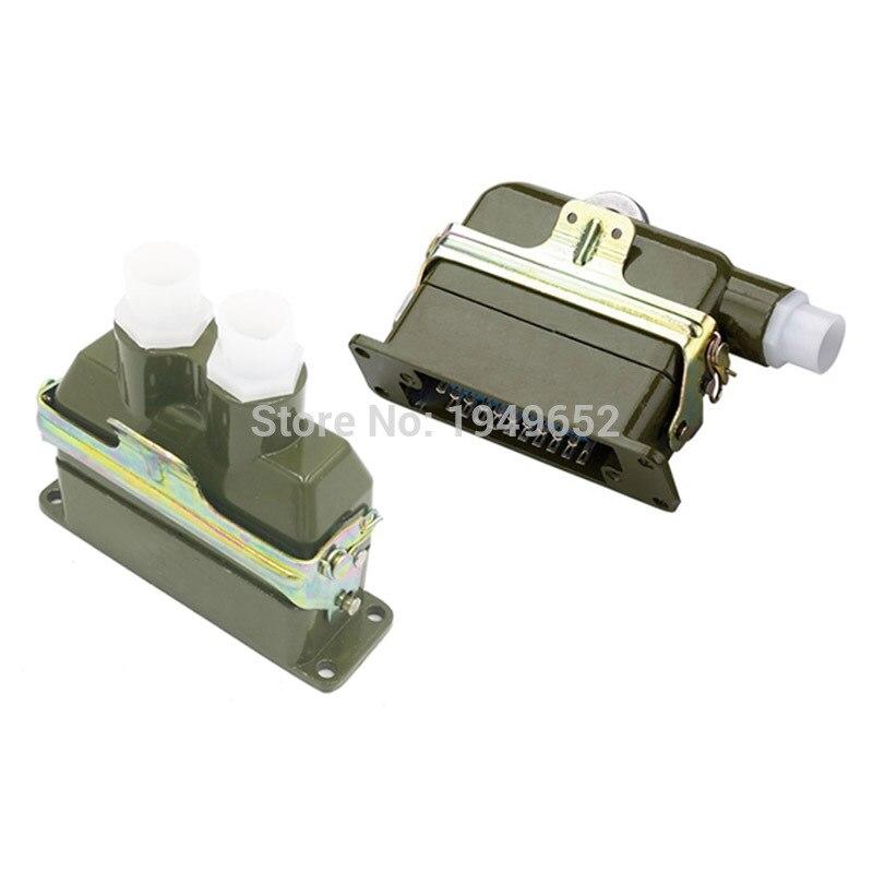 AZ-20 JZ/KA Rectangle Connector Aviation Plug&Socket 20 Pin