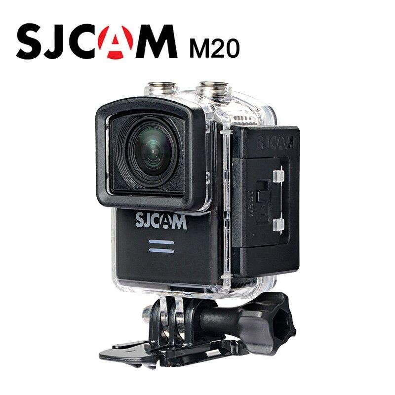 100% Оригинальные SJCAM M20 действие Камера Подводный 4 К Wi-Fi гироскопа мини видеокамера HD 16MP Водонепроницаемый DV Cam