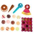 Crianças brinquedo sorvete stack up play toys bebê educacional brinquedo de simulação de alimentos