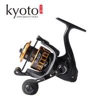 Kyoto lâmina molinete de pesca 2000 3000 4000 5000 6000 engrenagem ratio5.0: 1/4. 7:1 10 + 1bb para pesca do mar de água doce/salgada Carretilhas de pesca     -