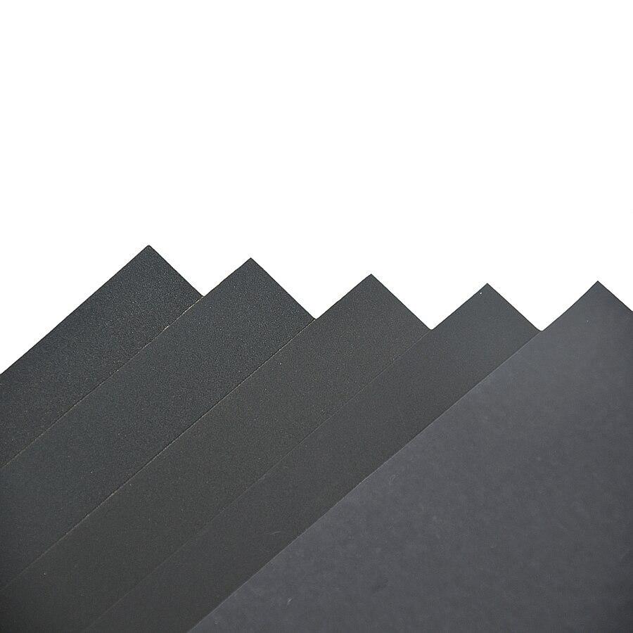 Image 2 - 5pcs Superfine Sandpaper Brushed Water Sanding Paper Polishing Grinding Tools Grit 60 80 120 240 1000 2000 Abrasive Paper-in Abrasive Tools from Tools
