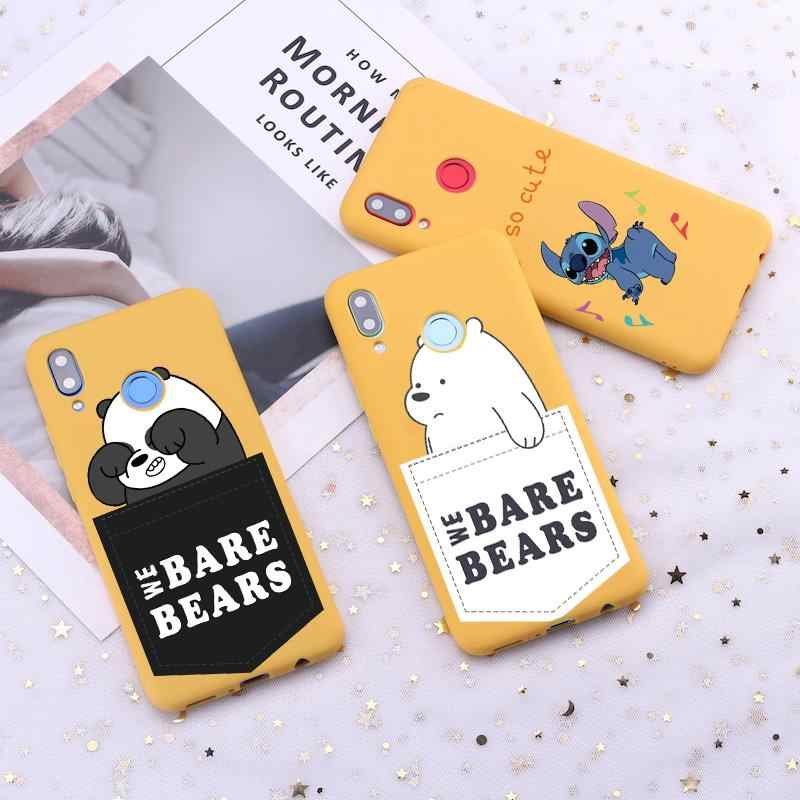 We Bare Bears Soft TPU Phone Cases For Huawei P30 P20 Mate 10 20 Lite P Smart 2019 Pro For Honor 8X 10i 20i 7X Case Cover Shells