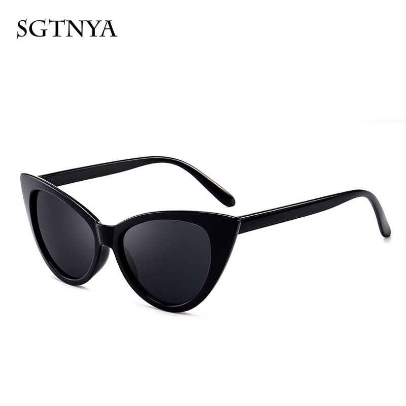 Personality cat eye sunglasses classic retro men and women sunglasses brand designer fashion glasses UV400 in Women 39 s Sunglasses from Apparel Accessories