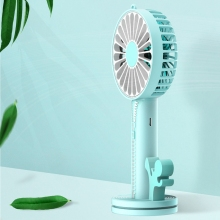 Multifunctional Usb Desktop Zipper Fan Handy Small Desk Cooling Portable Cooler Mini