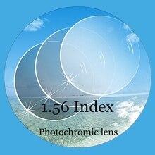 c268ad0e61 1.56 Index CR-39 Photochromic glasses lenses colored sunglasses  prescription reading optical myopia clear lenses