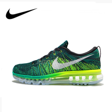 NIKE FLYKNIT MAX Men's Running Shoes Nike Shoes Men Authentic Shoes #620469-013