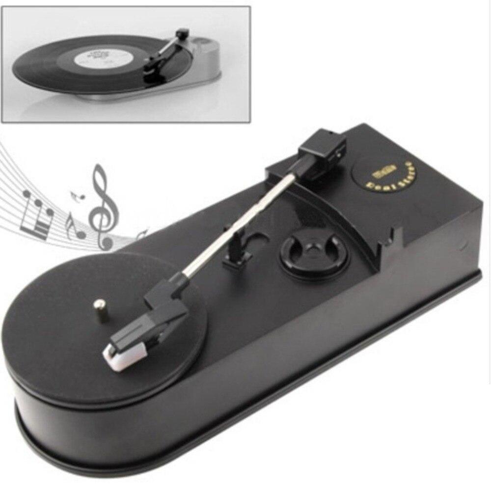 Plattenspieler Tragbares Audio & Video WunderschöNen Generisches Mini Retro Usb Plattenspieler Plattenspieler Mit Lautsprecher Retro Phonographen Konvertieren Vinyl Lp Zu Mp3/wav Stecker Und Spielen