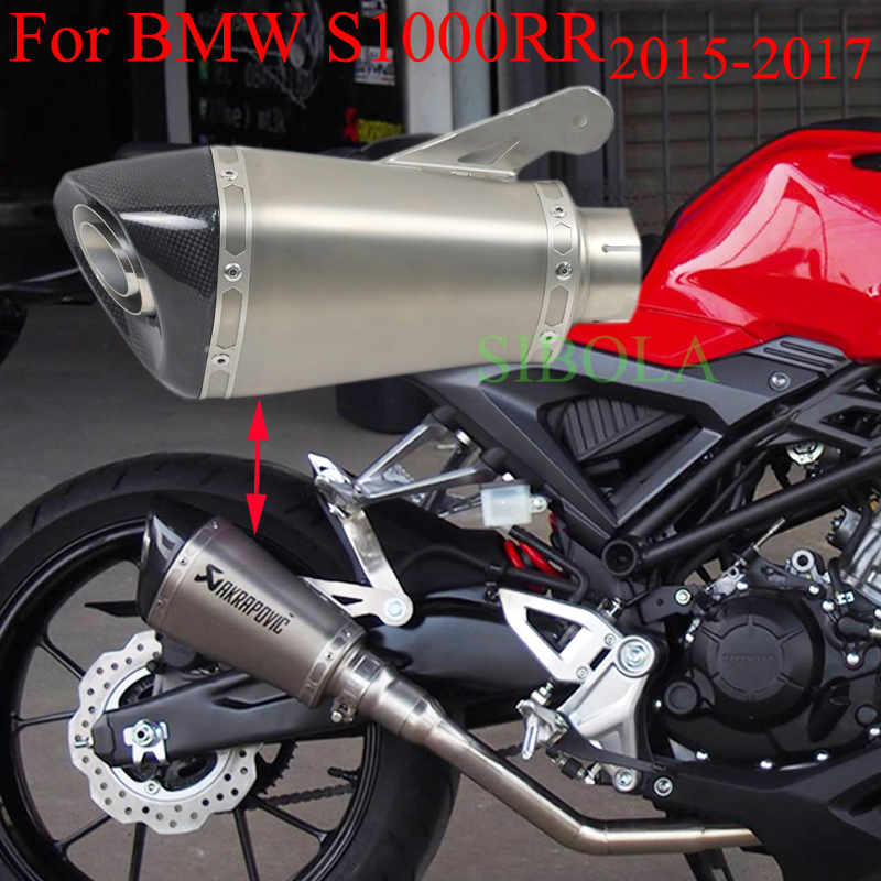 Detail Feedback Questions About 60mm Inlet Slip On Exhaust For Bmw