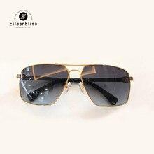 Piloto Óculos De Sol para Homens 2018 Do Vintage Da Moda de Alta Qualidade Marca Designer Óculos de Sol Oculos de sol Quadrado Masculino com Embalagem
