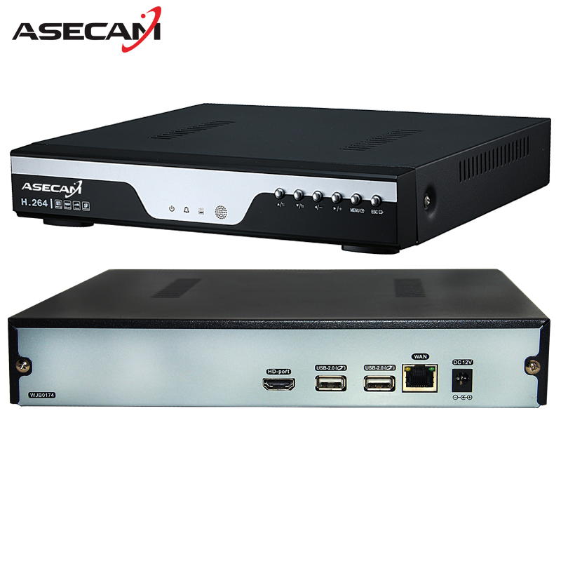 Super 8CH H.265 NVR Video Recorder 4MP 5MP 1080P Digital 8 Channel CCTV Onvif Network Security IP Camera p2p