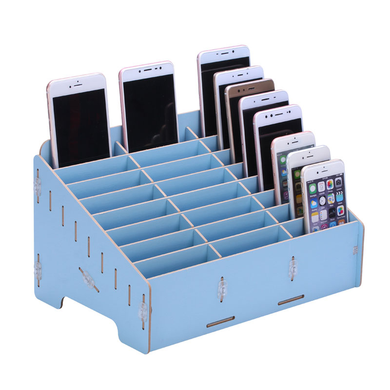 Caja de herramientas de reparación de teléfono móvil caja de almacenamiento de madera accesorios de placa base caja de almacenamiento Ferramentas