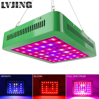 LVJING 300W LED Grow Light Full Spectrum Veg/Bloom Switchable Indoor Plants Flowers Growing Hydroponic Lamp Phytolamp Led Panel