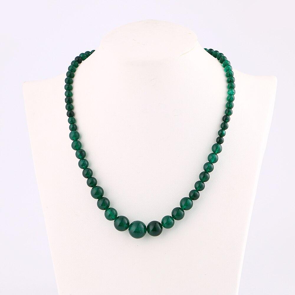 Naturliche Achat Halskette Perle Schmuck Frauen Turm Ketten Power