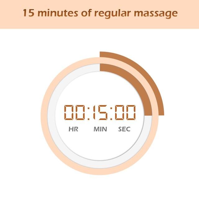 U Shape Electrical Back Neck Shoulder Body Massager for Home or Car Use 4