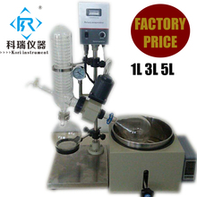 3l Chemical stainless steel glass Vacuum Water Distiller Rotary evaporator