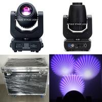 (2 luzes + Caso) powercon led moving head focos LED para o estágio 150 watt local 150 w levou feixe de mover a cabeça em caso