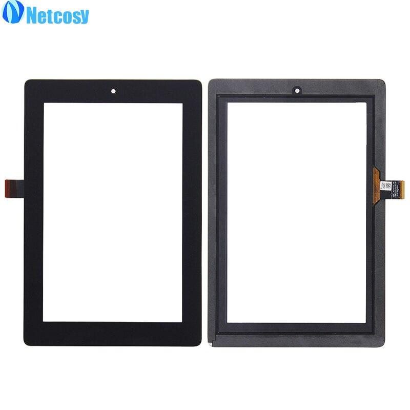 Netcosy для Amazon Kindle Fire HD 7 HD7 2014 touch Панель черный Сенсорный экран Стекло Digitizer Запасные части сенсорной Экран