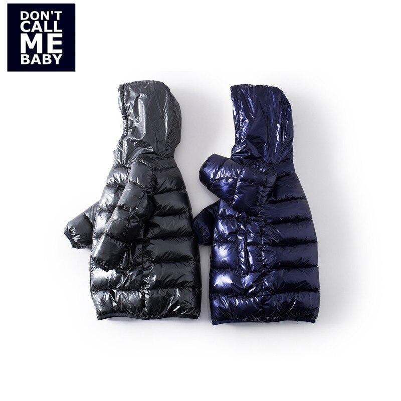 Mayas bleu Bling Bling mode enfants hiver Parkas garçons nouveau chaud Zipper épaississement manteaux enfants rue basique veste 81230