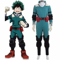 My Hero Academia Boku No Hero Akademia Izuku Midoriya Cosplay Costume Halloween Outfits Full Set