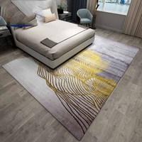 Современный стиль гостиная ковры Nordic минималистский спальня диван подушки дома чистая красный