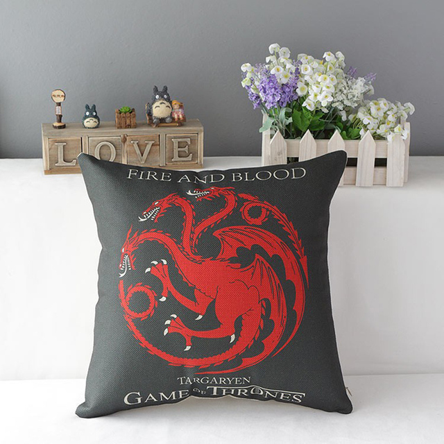 Game of Thrones Cotton Pillow  4