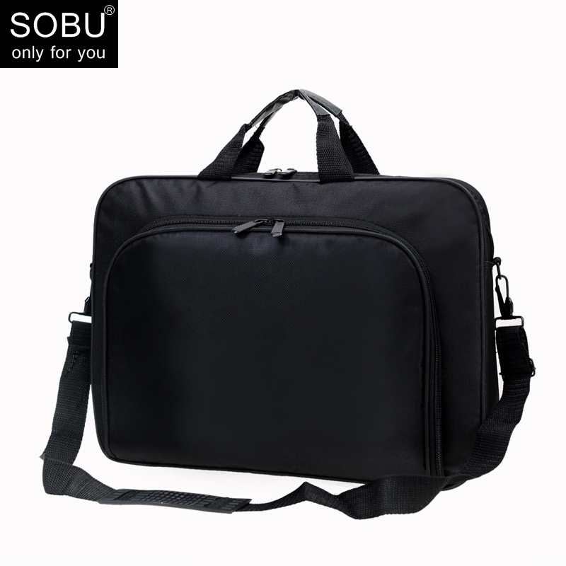 Polyester Men Briefcases Light Business Messenger Bags Men Office Laptop Bag Handbags Men Totes Casual Male Shoulder Bag N071