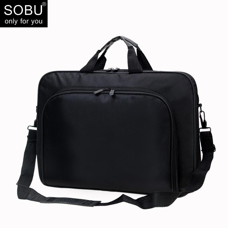 Polyester Men Briefcases Light Business Messenger Bags Men Office Laptop Bag Handbags Men Totes Casual Male Shoulder Bag N071