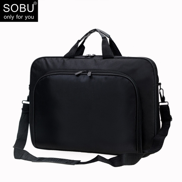 Polyester Men Briefcases Light Business Messenger Bags Office Laptop Bag Handbags Totes Casual Male