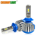 Super Bright Car Headlights H7 LED H8/H11 HB3/9005 HB4/9006 H1 70W 7000lm Auto Front Bulb Automobile Headlamp 6000K Car Lighting