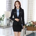 "Spring new career suits for getting long sleeve dress fashion overalls women 's tooling work wear ""women' s suits for plus size"