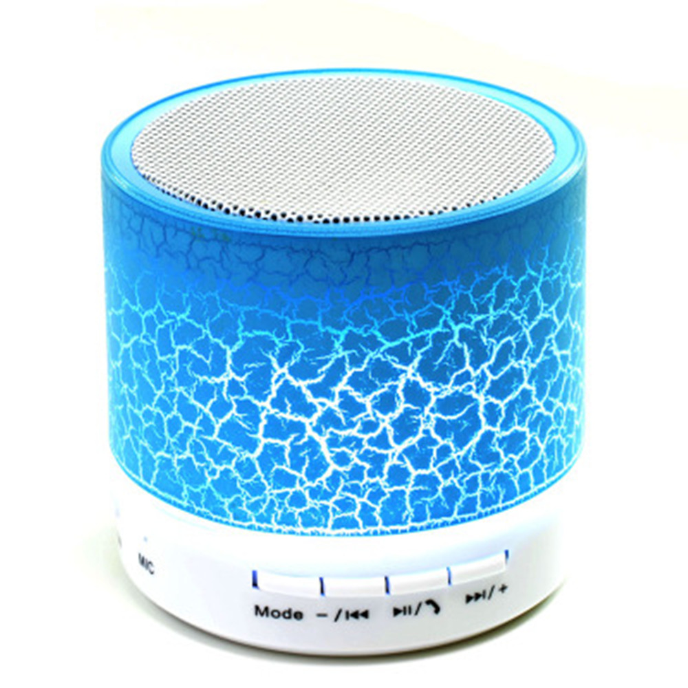 A9 LED Mini Wireless Bluetooth Speaker TF/USB/FM Portable Music Loudspeakers Hand-Free Call For Iphone 5 6 7 8 Xiaomi Samsung