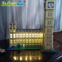 LED Light Set Compatible With Lego Big Ben House Model Creator Decorate Accessories Kit Blocks Toys